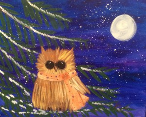 The Owly Winter Picture